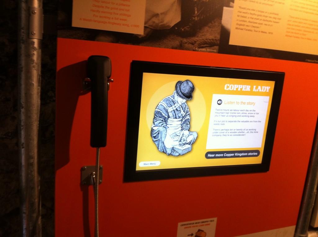 Copper Kingdom interactive exhibit