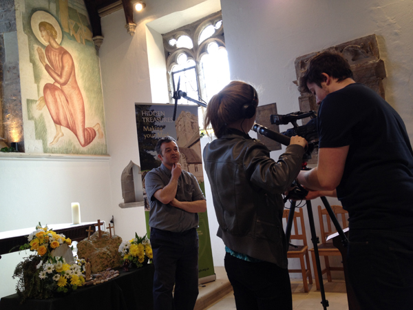 Tablet tour video at St Martin's Church Bilborough