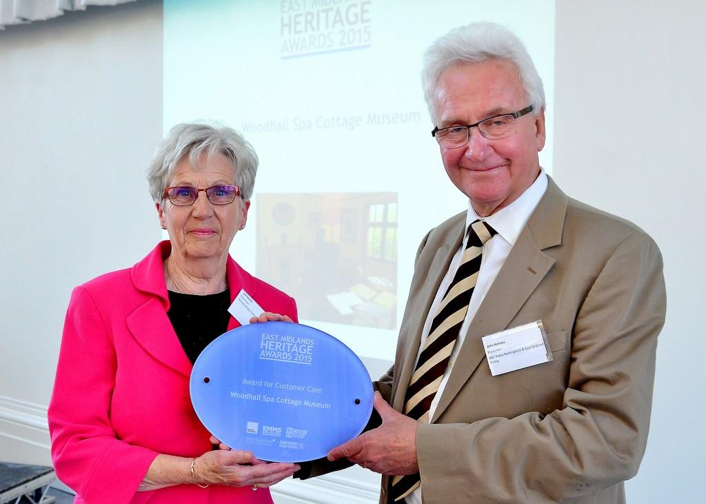 Woodhall Spa East Midlands Heritage Award